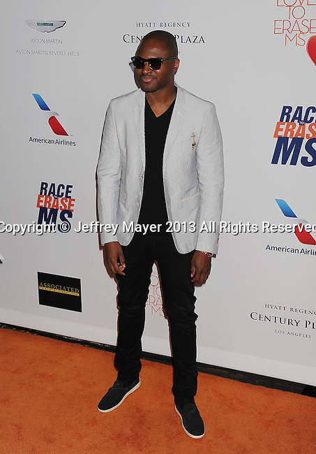 CENTURY CITY, CA- MAY 03: Singer Taio Cruz arrives at the 20th Annual Race To Erase MS Gala 'Love To Erase MS' at the Hyatt Regency Century Plaza on May 3, 2013 in Century City, California.