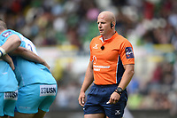 Referee Nick Wood. Premiership Rugby 7s (Day 2) on July 28, 2018 at Franklin's Gardens in Northampton, England. Photo by: Patrick Khachfe / Onside Images