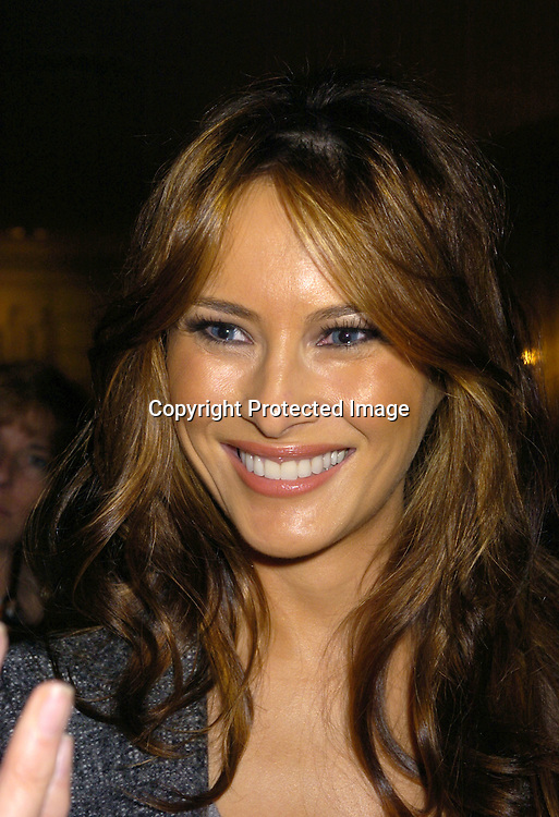 Melania Knauss ..at the PAL 16th Annual Women of the Year Luncheon honoring Kelly Ripa, Paul Zahn and Cindi Stivers on October 26, 2004 at the Pierre Hotel. ..Photo by Robin Platzer, Twin Images