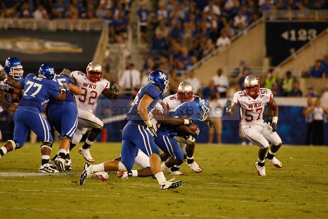 UK played Western Kentucky University in Lexington, Ky., on 9/11/10. Photo by Latara Appleby   Staff