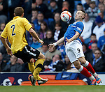 Barrie McKay controls the ball on the byeline