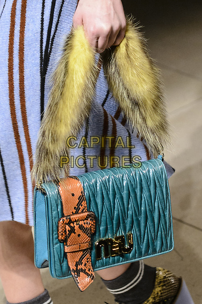 MIU MIU<br /> at Paris Fashion Week FW 17 18<br /> in Paris, France on  March 07, 2017.<br /> CAP/GOL<br /> &copy;GOL/Capital Pictures