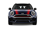 Car photography straight front view of a 2019 MINI Clubman John-Cooper-Works-ALL4 5 Door Wagon Front View