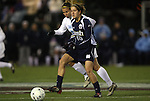 04 December 2009: Notre Dame's Rose Augustin. The University of North Carolina Tar Heels defeated the Notre Dame University Fighting Irish 1-0 at the Aggie Soccer Complex in College Station, Texas in an NCAA Division I Women's College Cup Semifinal game.
