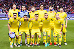 CF Rostov's players during a match of UEFA Champions League at Vicente Calderon Stadium in Madrid. November 01, Spain. 2016. (ALTERPHOTOS/BorjaB.Hojas)