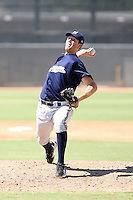 Brooks Hall - Milwaukee Brewers - 2010 Instructional League.Photo by:  Bill Mitchell/Four Seam Images..