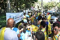 CAMPINAS, SP, 25.02.2018: EDUCACAO-SP - II Caminha de Erradicação do Analfabetismo de Campinas é realizada no Parque Taquaral em Campinas, interior de São Paulo, neste domingo (25). O evento contou com a presença do ativista da paz Arun Manilal Gandhi, neto de Mahatma Gandhi, fundador e patrono do Gandhi Institute For Nonviolence (Instituto Gandhi para a Não Violência). (Foto: Luciano Claudino/Codigo19)