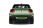 Straight rear view of a 2015 MINI Paceman Cooper 3 Door Hatchback Rear View  stock images