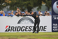 Thorbjorn Olesen (DEN) on the 13th tee during Round 1of the Sky Sports British Masters at Walton Heath Golf Club in Tadworth, Surrey, England on Thursday 11th Oct 2018.<br /> Picture:  Thos Caffrey | Golffile<br /> <br /> All photo usage must carry mandatory copyright credit (© Golffile | Thos Caffrey)