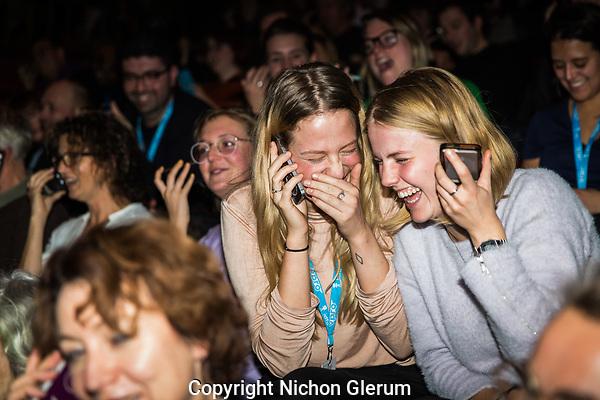 Amsterdam, 18-11-2017, IDFA International Documentary Filmfestival Amsterdam. Doclab Live: Orchestrated Rituals in de Brakke Grond.  Photo Nichon Glerum