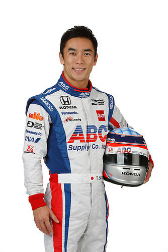 2 February, 2016, Indianapolis, Indiana USA<br /> Takuma Sato<br /> ©2016, Michael L. Levitt<br /> LAT Photo USA