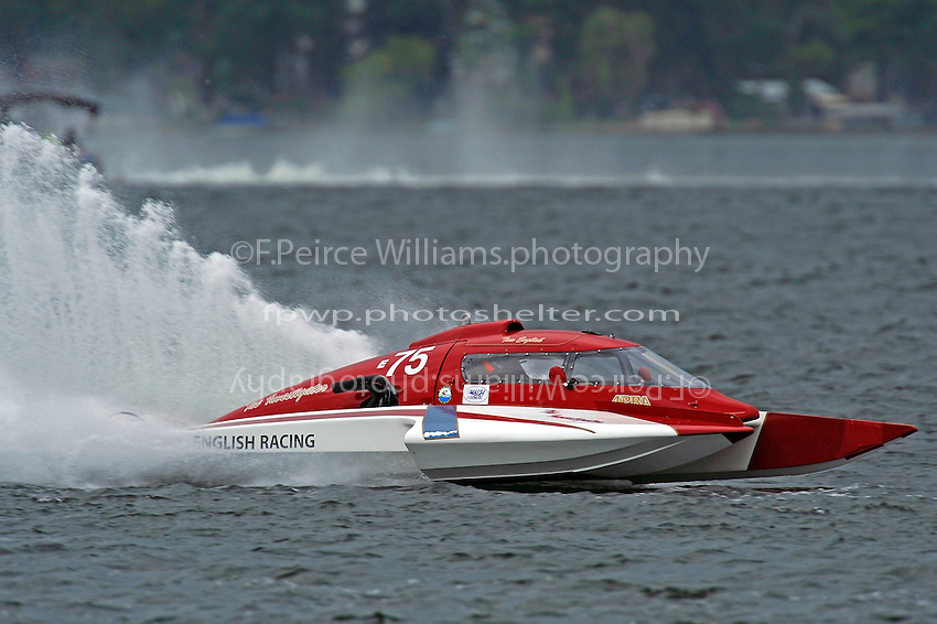 "Tom Thompson, E-75, ""The Investigator""  (5 Litre class hydroplane(s)"