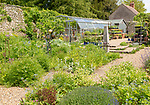 The Walled garden nursery, Mells, Somerset, England, UK