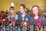 Marry Barry from Lisselton with Enya McIntyre and Laura Walsh from Glin enjoying the master classes held in The Convent School on Saturday for the Fleadh by the Feale in Abbeyfeale.