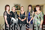 St. Michael's College Valentine's Ball : Attending the St Michaels College Ball on Saturday night last which was held at The Listowel Arms Hotel were Breda Broderick, Louise Moriarity, Betty Stack Joanne Keane & Mary Francis Behan.