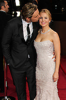 HOLLYWOOD, LOS ANGELES, CA, USA - MARCH 02: Dax Shepard, Kristen Bell at the 86th Annual Academy Awards held at Dolby Theatre on March 2, 2014 in Hollywood, Los Angeles, California, United States. (Photo by Xavier Collin/Celebrity Monitor)