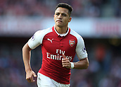 9th September 2017, Emirates Stadium, London, England; EPL Premier League Football, Arsenal versus Bournemouth; Alexis Sanchez of Arsenal looks on