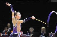"February 8, 2014 - Tartu, Estonia - STEPHANI JENKINS of Great Britain performs at ""Miss Valentine 2014"" international tournament."