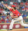 Yu Darvish (Rangers),<br /> SEPTEMBER 30, 2016 - MLB :<br /> Yu Darvish of the Texas Rangers pitches during the Major League Baseball game against the Tampa Bay Rays at Globe Life Park in Arlington in Arlington, Texas, United States. (Photo by AFLO)