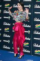 Inna attend the 40 Principales Awards at Barclaycard Center in Madrid, Spain. December 12, 2014. (ALTERPHOTOS/Carlos Dafonte) /NortePhoto