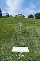 Edward Moore Kennedy Grave, Arlington Cemetery, Virginia, USA