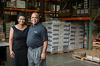 Tim and Sonja Catlett of Progressive Business Solutions in Raleigh, North Carolina Monday, September 24, 2018. (Justin Cook)