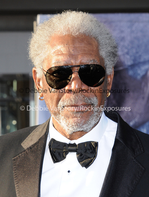 Morgan Freeman at Universal Pictures American Premiere of Oblivion held at The DolbyTheater in Hollywood, California on April 10,2013                                                                   Copyright 2013 Hollywood Press Agency
