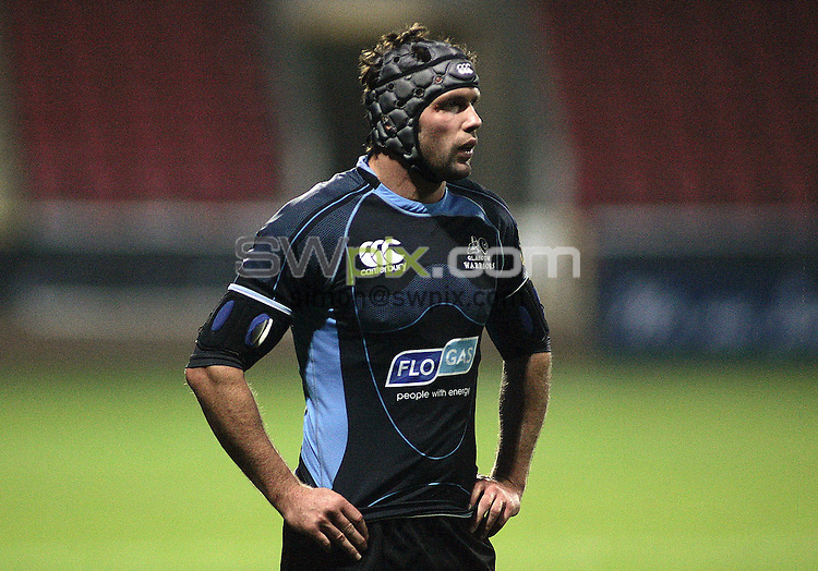 PICTURE BY VAUGHN RIDLEY/SWPIX.COM - Rugby Union - Magners League - Glasgow Warriors v Llanelli Scarlets - Firhill, Glasgow, Scotland - 26/09/08...Copyright - Simon Wilkinson - 07811267706...Glasgow's Dan Turner.