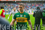 Stephen O'Brien, Kerry players after defeating Tyrone in the All Ireland Semi Final at Croke Park on Sunday.