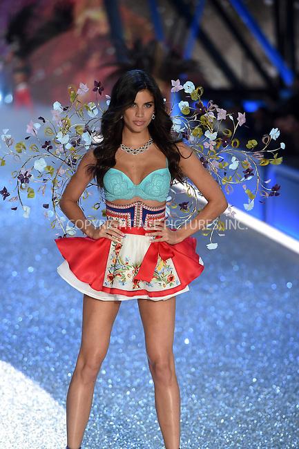 www.acepixs.com<br /> <br /> November 30 2016, New York City<br /> <br /> Sara Sampaio walks the runway during the Victoria's Secret Fashion Show on November 30, 2016 in Paris, France.<br /> <br /> By Line: Alain Benainous/ACE Pictures<br /> <br /> <br /> ACE Pictures Inc<br /> Tel: 6467670430<br /> Email: info@acepixs.com<br /> www.acepixs.com