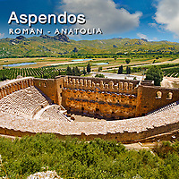 Aspendos Roman Ampitheatre Pictures, Images & Photos. Turkey