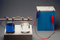 ELECTROLYSIS: COPPER SULFATE &amp; SILVER NITRATE<br />