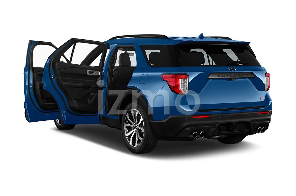 Car images of 2020 Ford Explorer ST 5 Door SUV Doors