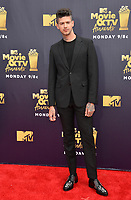 Travis Mills at the 2018 MTV Movie &amp; TV Awards at the Barker Hanger, Santa Monica, USA 16 June 2018<br /> Picture: Paul Smith/Featureflash/SilverHub 0208 004 5359 sales@silverhubmedia.com