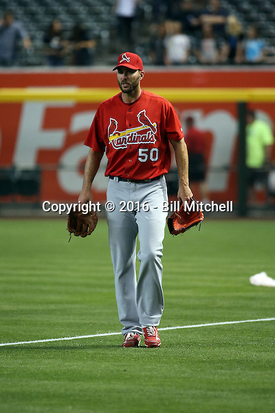 Adam Wainwright - 2016 St. Louis Cardinals (Bill Mitchell)