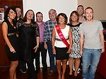 Goretti Kierans celebrating her 60th birthday with heer family in Brú. Photo:Colin Bell/pressphotos.ie