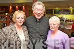Mary Sinnott, Ardfert, Fr Tom Looney, Dingle and Teresa Sheehan, Kilkenny pose for the camera ahead of the Kerry MS pilgrimage to Lourdes.   Copyright Kerry's Eye 2008