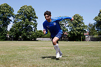23rd May 2020; United Select HQ, Richings Sports Park, Iver, Bucks, England, United Select HQ exclusive Photo shoot session; Jordan Morgan during sprint drills