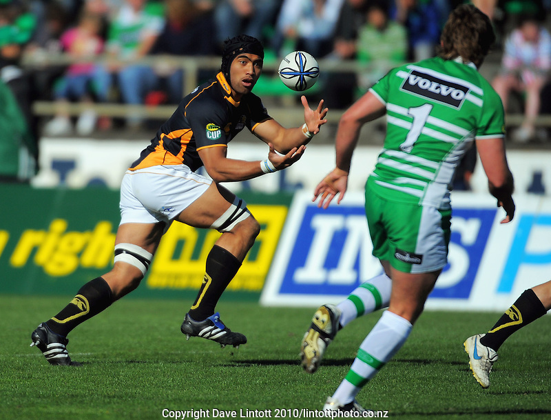 Wellington's Victor Vito. ITM Cup rugby - Manawatu Turbos v Wellington Lions at FMG Stadium, Palmerston North, New Zealand on Saturday, 4 September 2010. Photo: Dave Lintott/lintottphoto.co.nz