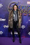 Silvia Jato attends to Avengers Endgame premiere at Capitol cinema in Madrid, Spain. April 23, 2019. (ALTERPHOTOS/A. Perez Meca)