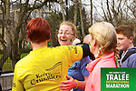 Kathleen White 436,Margaret Mahoney 212, Mary Toomey 406, who took part in the Kerry's Eye Tralee International Marathon on Sunday 16th March 2014.