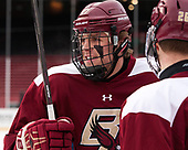 Graham McPhee (BC - 27) - The Boston College Eagles practiced at Fenway on Friday, January 6, 2017, in Boston, Massachusetts.