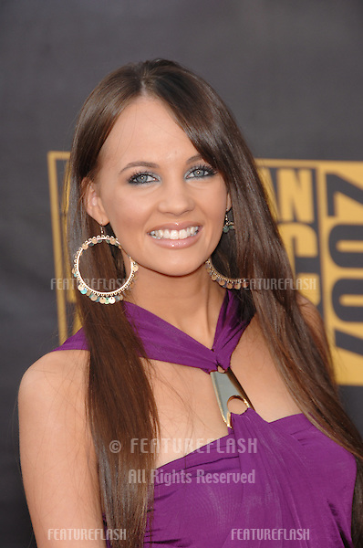 Samantha Jade at the 2007 American Music Awards at the Nokia Theatre, Los Angeles..November 18, 2007  Los Angeles, CA.Picture: Paul Smith / Featureflash