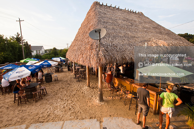 Mojito Bay Tiki Bar is pictured in Put-In-Bay on South Bass Island, Ohio, Wednesday August 7, 2013.