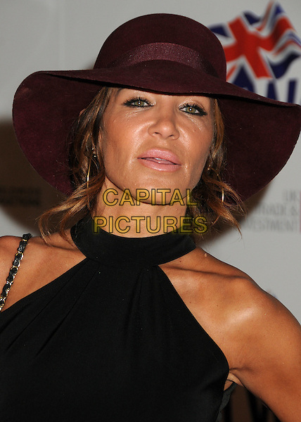Robin Antin.BritWeek 2012 Official Launch held at a Private Residence, Los Angeles, California, USA..April 24th, 2012.headshot portrait brown hat black.CAP/ADM/BP.©Byron Purvis/AdMedia/Capital Pictures.