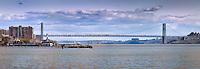 George Washington Bridge from Edgewater Piers