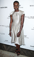 WEST HOLLYWOOD, CA, USA - APRIL 08: Danai Gurira at the Marie Claire Fresh Faces Party Celebrating May Cover Stars held at Soho House on April 8, 2014 in West Hollywood, California, United States. (Photo by Celebrity Monitor)