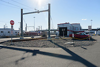 New Haven Rail Yard, Independent Wheel True Facility. CT-DOT Project # 0300-0139, New Haven CT.<br /> Photograph of Construction Progress Final Photo Shoot on 15 December 2015. One of 54 Images Captured this Submission.