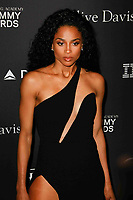 BEVERLY HILLS, CA- FEBRUARY 09: Ciara at the Clive Davis Pre-Grammy Gala and Salute to Industry Icons held at The Beverly Hilton on February 9, 2019 in Beverly Hills, California.      <br /> CAP/MPI/IS<br /> ©IS/MPI/Capital Pictures