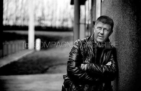 Former Belgian footballer Benoît Thans (Belgium, 03/01/2013)